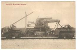 Obusier  De  304  Sur  Wagon - Materiaal