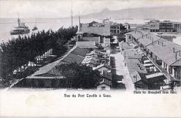 SUEZ - Vue Du Port Tewfik à Suez, 1910? - Sues