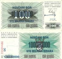 Bosnia-Herzegovina P137a,1000 Dinara, 1992 UNC - Serb Republic - Bosnia And Herzegovina