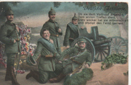 Nr. 1911,  Feldpost  1915,  Deutsche Artillerie - Guerre 1914-18