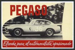 *Pegaso* Exposicion CCCB, Barcelona 2001. Nueva. - Publicidad