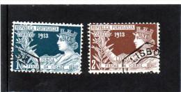 B - 1913 Portogallo - Feste Di Lisbona - Used Stamps