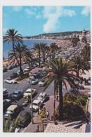 NICE - LA PROMENADE DES ANGLAIS AVEC CITROEN DS - RENAULT DAUPHINE ET VOLKSWAGEN COCCINELLE - Nizza