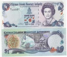 Cayman Islands  - 1 Dollar 2003 UNC Lemberg-Zp