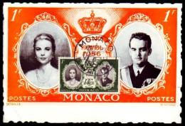 Monaco 1956 - Hochzeit Des Fürsten Rainier III. Mit  Grace Kelly - MK 561 - Koniklijke Families