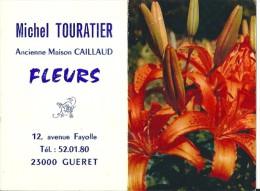 23  GUERET  -    Petit Calendrier Pub 1976 - Calendars