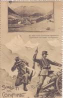 Saluti Dal Confine - Inviata 1915 - Guerra 1914-18