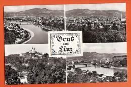 BFX-05 Gruss Aus Linz, Mit Kleinem Bild Im Zentrum. Systems-Karte. Stempel Salzburg 1956. Winkler 1550 - Linz