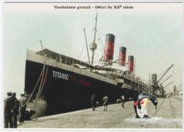 CPM - BATEAU - HUMOUR  - TITANIC -  Vandalisme Gratuit - Début Du XXe Siècle - Steamers