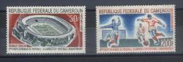 TIMBRE  REPUBLIQUE FEDERALE DU CAMEROUN  N°  88/89  Neuf **  Poste Aérienne - Camerun (1960-...)