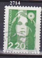 FRANCE N° 2714   MARIANNE DU BICENTENAIRE OBLITERE - 1989-96 Marianne Du Bicentenaire