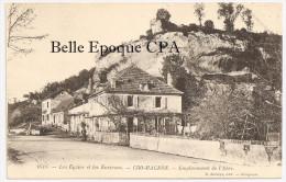 24 - Les Eyzies - CRO-MAGNON - Emplacement De L'Abri +++++ O. Domège, Périgueux / ARCHÉOLOGIE - France
