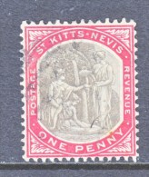 SAINT KITTS AND NEVIS  13   (o)   Wmk  3 - St.Christopher-Nevis-Anguilla (...-1980)