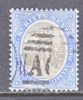 SAINT KITTS AND NEVIS  16    (o)   Wmk  3 - St.Christopher-Nevis-Anguilla (...-1980)
