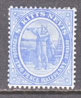 SAINT KITTS AND NEVIS  17  *   Wmk  3 - St.Christopher-Nevis-Anguilla (...-1980)