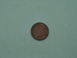 1897 - 1 Cent / KM 90a ( Uncleaned Coin / For Grade, Please See Photo ) !! - 1859-1909: Indian Head