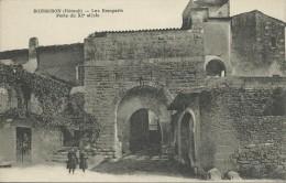 34)   BOISSERON    -  Les Remparts - Porte Du XIe Siècle - Francia