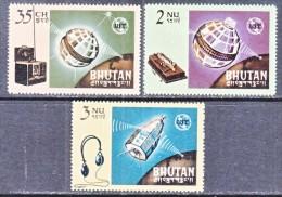 BHUTAN  53-5  *    ITU - Bhutan