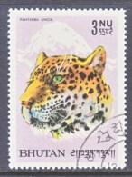 BHUTAN  65  (o)   LEOPARD - Bhutan