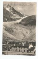 Cp ,chemin De Fer , La Gare P.L.M. , 74 , ARGENTIERES , Le Glacier Et L´aiguille , Voyagée 1929 - Estaciones Sin Trenes