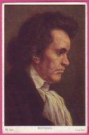 PC10208 Composer Ludwig Van Beethoven By Hans Best. - Muziek En Musicus