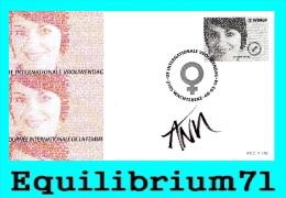 FDC (4404) Signé/ Getekend -  Journée Internationale De La Femme - BELGIQUE - 2011-...