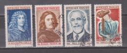 FRANCE / 1965 / Y&T N° 1442/1445 : Célébrités (4 TP) - Choisis - Tous Cachet Rond - France