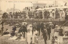 76 DIEPPE - Midi - Les Terrasses Du Casino Et La Plage - Dieppe