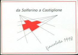 ITALIA - DA SOLFERINO A CASTIGLIONE -  CROCE ROSSA - Croix-Rouge