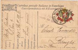 P.M.1915/1923- FRANCHIGIA POSTA MILITARE N. 37 - 1900-44 Vittorio Emanuele III
