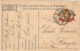 P.M.1915/1923- FRANCHIGIA POSTA MILITARE N. 37 - Poste Militaire (PM)