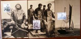 Foroyar Féroé Fishing Fishermen Marins Pèche - Profesiones