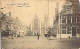 COURTRAI - L' Eglise St-Michel - St-Michel's Church - Edit. S.-D. 129 R. Rogier Brux. - Kortrijk