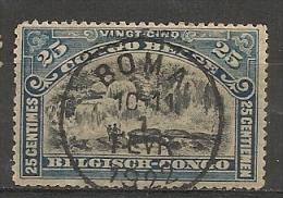 CONGO Nr 67 Cote 0.40 T14 - 1894-1923 Mols: Oblitérés