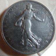 2 francs Semeuse 1913 Roty Argent  TTB