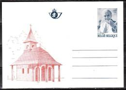 BK35**  Visite Du Pape Jean-Paul II - Chapelle Notre-Dame De Banneux - MNH** - LOOK!!!! - Stamped Stationery