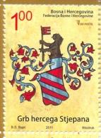 BH 2011-579 ARMS HERZEG STJEPANA, BOSNA AND HERZEGOVINA, 1 X 1v, MNH - Briefmarken
