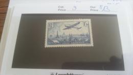 LOT 217281 TIMBRE DE FRANCE NEUF* N�9 VALEUR 13 EUROS