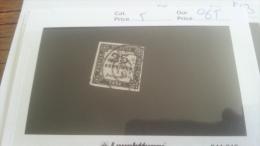 LOT 217288 TIMBRE DE FRANCE OBLITERE N�5 VALEUR 65 EUROS