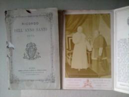 RICORDO DELL'ANNO SANTO 1875 - Religione & Esoterismo