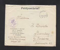 Feldpostbrief Unteroff. Trafas Stab II. Batl. Grenad. Reg Nr. 2 3. Preuss. Inf. Div, II. AK - Briefe U. Dokumente