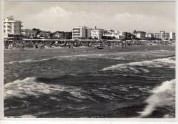 RICCIONE - La Spiaggia Vista Dal Mare , Hotel REX - Rimini