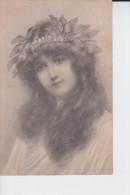 CP 1907  : MAGNIFIQUE JEUNE FILLE ET SON DIADEME ( CP ORIGINALE Nr 228 M.M. VIENNE  ) - Portretten