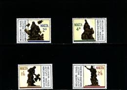 MALTA - 1967  MELCHIORRE  GAFA'  SET  MINT NH - Malta
