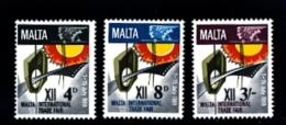 MALTA - 1968  MALTA TRADE FAIR  SET  MINT NH - Malta
