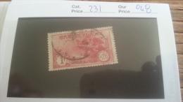 LOT 217340 TIMBRE DE FRANCE OBLITERE N�231 VALEUR 48 EUROS