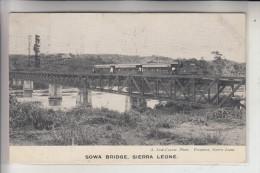 SIERRA LEONE, Sowa Bridge, Eisenbahn / Railway, 1910 - Sierra Leone