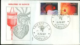ITALIA, TRIESTE - AVIS - DONATORI SANGUE -   CROCE ROSSA - Croix-Rouge