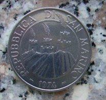 MONETA DA 50 LIRE DI SAN MARINO DEL 1974  IN FDC - - San Marino