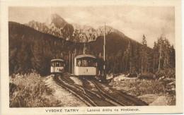 Slovakia  Lanova Draha Na Hrebienok  Drahtseil-bahn Tram Train Railway - Slovakia
